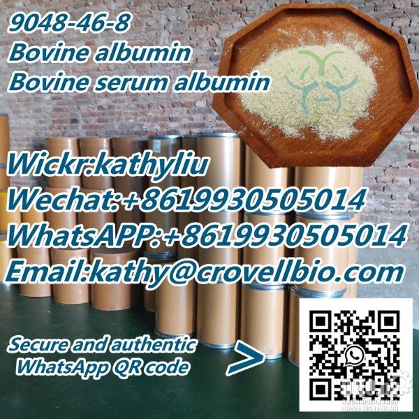 CAS 9048-46-8 Бычий альбумин / Бычий сывороточный альбумин по заводской цене 8619930505014