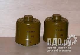 Фильтры ДП-2 для советских противогазов