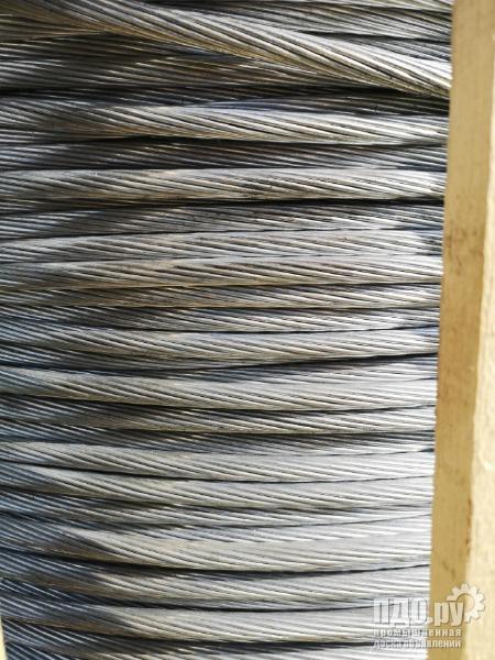 Грозозащитный трос МЗ со склада в г. Орел ,отмот от 1 п/м