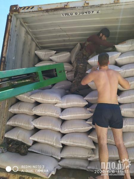 Фасовка зерна в мешки и биг-беги на Вашем складе